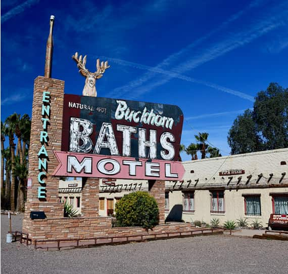 Buckhorn Baths Motel in Mesa Arizona
