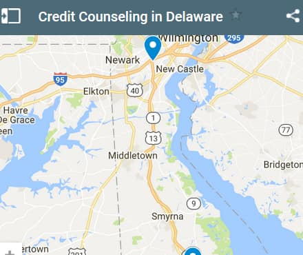 Delaware Credit Counseling Providers - Initial Static Image