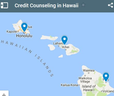 Hawaii Credit Counseling Providers - Initial Static Image
