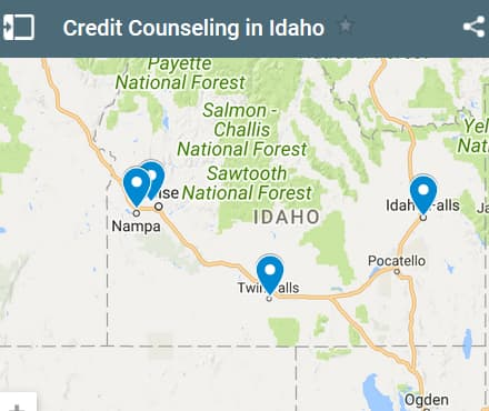 Idaho Credit Counseling Providers - Initial Static Image