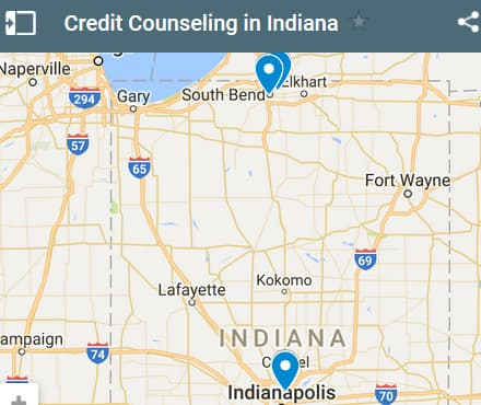 Indiana Credit Counseling Providers - Initial Static Image