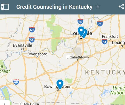Kentucky Credit Counseling Providers - Initial Static Image