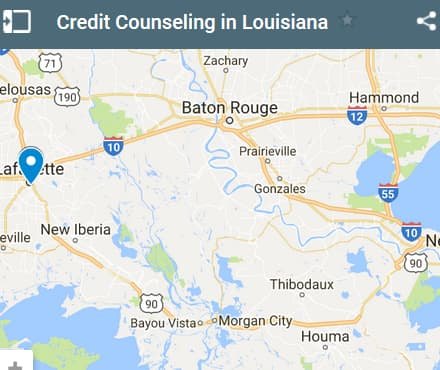 Louisiana Credit Counseling Providers - Initial Static Image