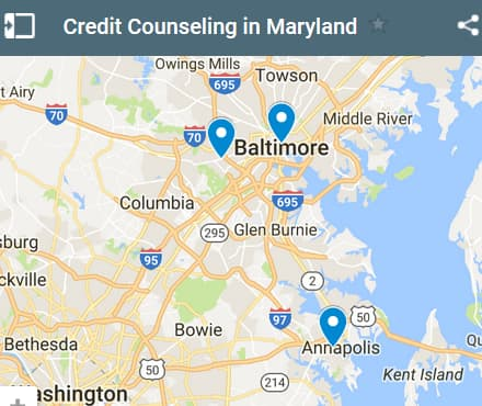 Maryland Credit Counseling Providers - Initial Static Image