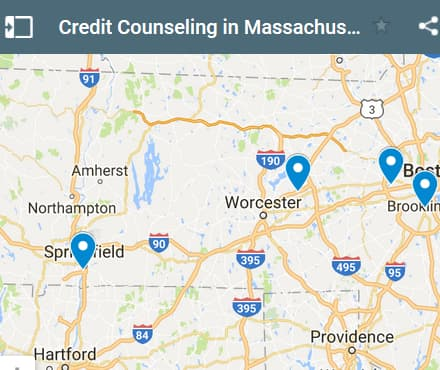 Massachusetts Credit Counseling Providers - Initial Static Image