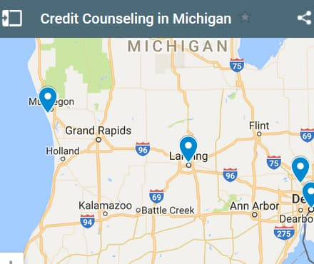 Michigan Credit Counseling Providers - Initial Static Image