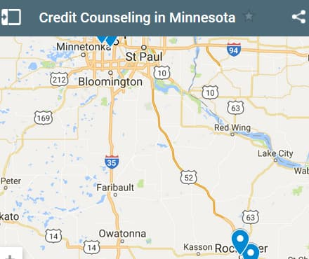 Minnesota Credit Counseling Providers - Initial Static Image