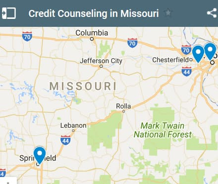 Missouri Credit Counseling Providers - Initial Static Image