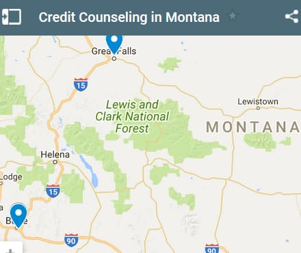 Montana Credit Counseling Providers - Initial Static Image