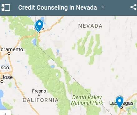 Nevada Credit Counseling Providers - Initial Static Image