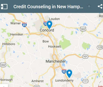 New Hampshire Credit Counseling Providers - Initial Static Image