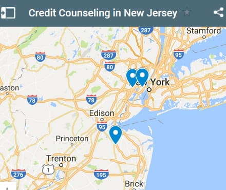 New Jersey Credit Counseling Providers - Initial Static Image