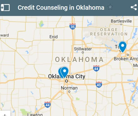 Oklahoma Credit Counseling Providers - Initial Static Image