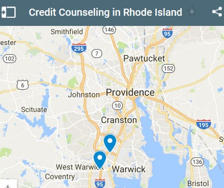 Rhode Island Credit Counseling Providers - Initial Static Image