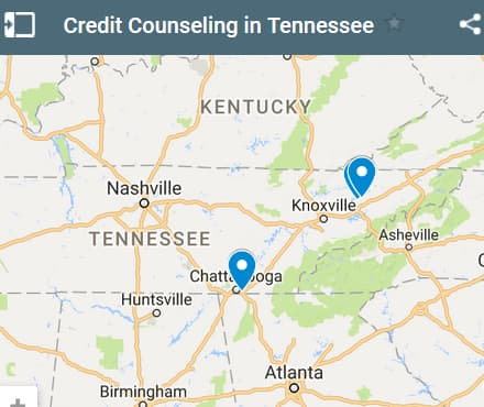 Tennessee Credit Counseling Providers - Initial Static Image