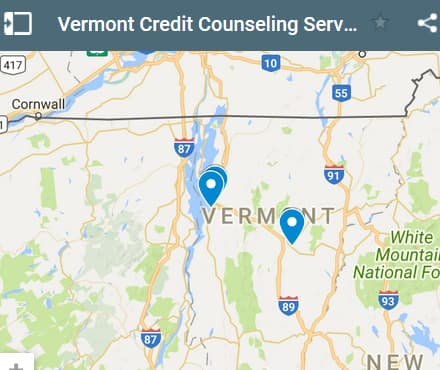 Vermont Credit Counseling Providers - Initial Static Image