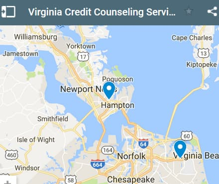 Virginia Credit Counseling Providers - Initial Static Image