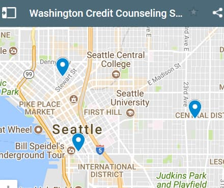 Washington Credit Counseling Providers - Initial Static Image