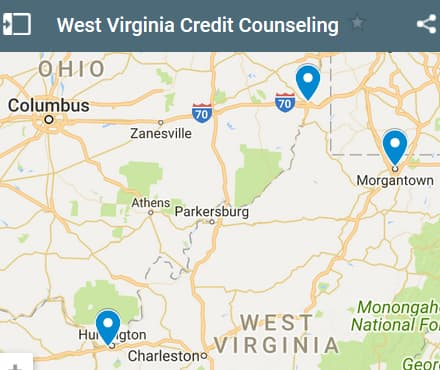 West Virginia Credit Counseling Providers - Initial Static Image