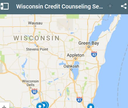 Wisconsin Credit Counseling Providers - Initial Static Image