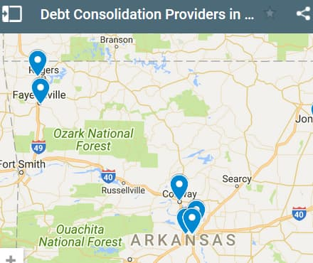 Arkansas Debt Consolidation Loan Providers - Initial Static Image