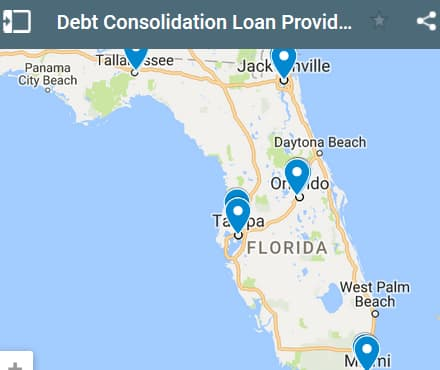 Florida Debt Consolidation Loan Providers - Initial Static Image