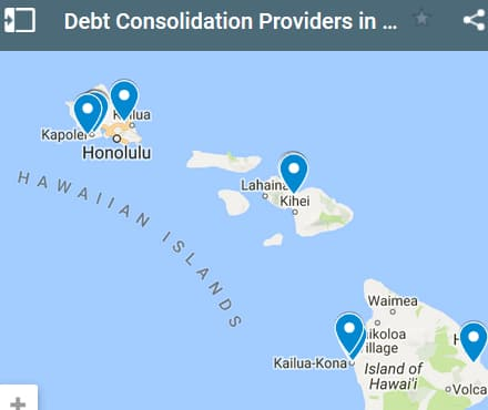 Hawaii Debt Consolidation Loan Providers - Initial Static Image