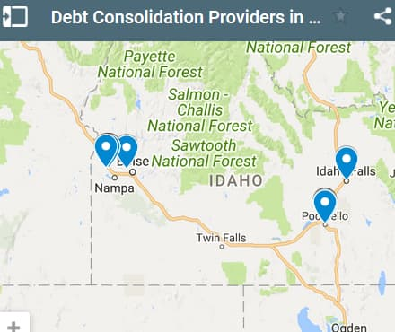 Idaho Debt Consolidation Loan Providers - Initial Static Image