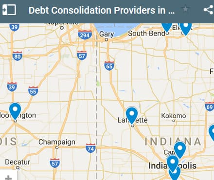 Indiana Debt Consolidation Loan Providers - Initial Static Image
