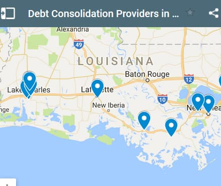 Louisiana Debt Consolidation Loan Providers - Initial Static Image