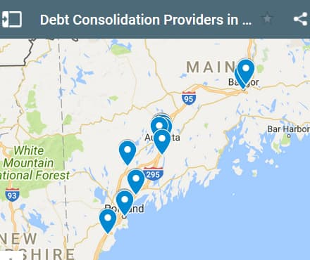 Maine Debt Consolidation Loan Providers - Initial Static Image