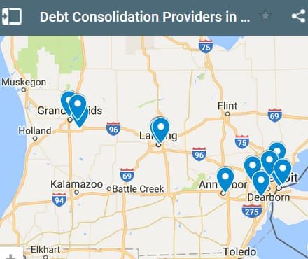 Michigan Debt Consolidation Loan Providers - Initial Static Image