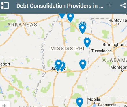 Mississippi Debt Consolidation Loan Providers - Initial Static Image