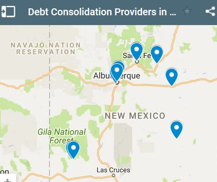 New Mexico Debt Consolidation Loan Providers - Initial Static Image