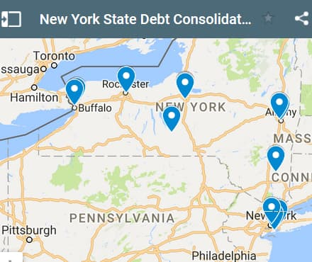 New York Debt Consolidation Loan Providers - Initial Static Image