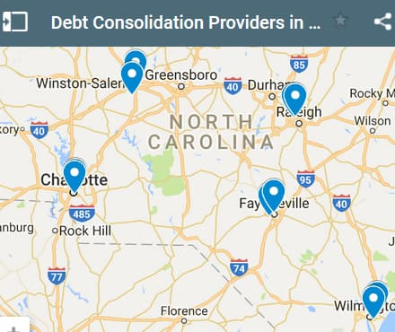North Carolina Debt Consolidation Loan Providers - Initial Static Image