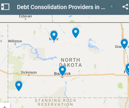 North Dakota Debt Consolidation Loan Providers - Initial Static Image