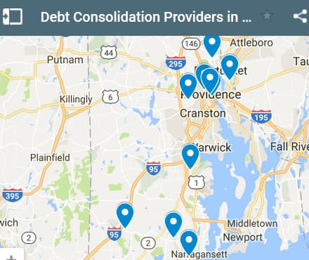 Rhode Island Debt Consolidation Loan Providers - Initial Static Image