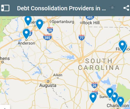 South Carolina Debt Consolidation Loan Providers - Initial Static Image