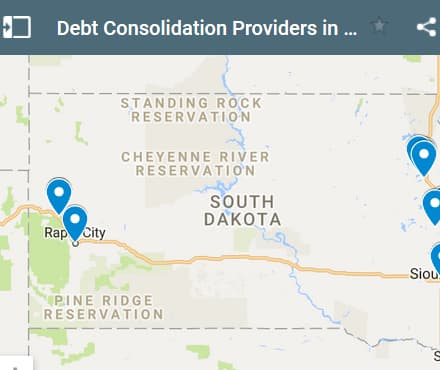 South Dakota Debt Consolidation Loan Providers - Initial Static Image