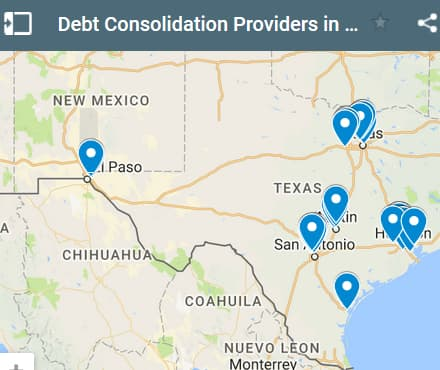 Texas Debt Consolidation Loan Providers - Initial Static Image
