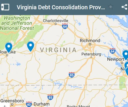 Virginia Debt Consolidation Loan Providers - Initial Static Image