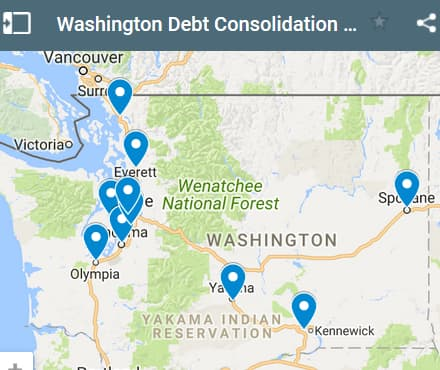 Washington Debt Consolidation Loan Providers - Initial Static Image