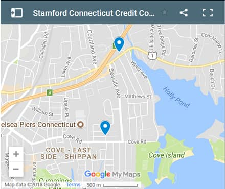 Stamford Credit Counsellors Map - Initial Static Image