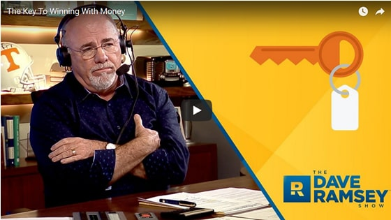 Dave Ramsey Video on Money Management - Initial Static Image